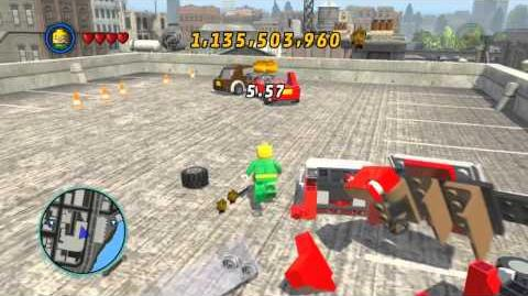 LEGO Marvel Super Heroes The Video Game - Iron Fist free roam