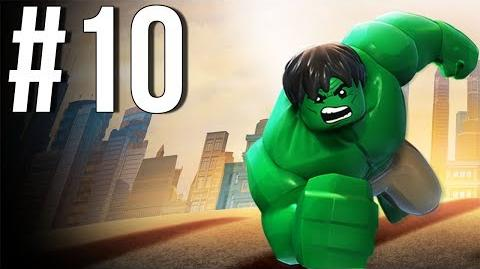 Lego Marvel Superheroes Walkthrough Part 10 Let's Play Gameplay Playthrough XBOX360 PS3 PC
