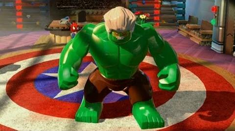LEGO Marvel Superheroes Stan Lee Hulks Out - Comic-Con 2013