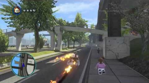 LEGO Marvel Super Heroes The Video Game - Ghost Rider free roam