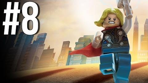 Lego Marvel Superheroes Walkthrough Part 8 Let's Play Gameplay Playthrough XBOX360 PS3 PC