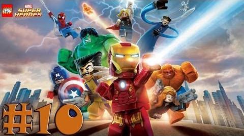 LEGO Marvel Super Heroes - Walkthrough - Part 10 - That Sinking Feeling (X360) HD