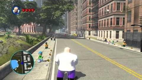 LEGO Marvel Super Heroes The Video Game - Kingpin free roam