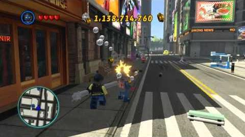 LEGO Marvel Super Heroes The Video Game - Union Jack free roam