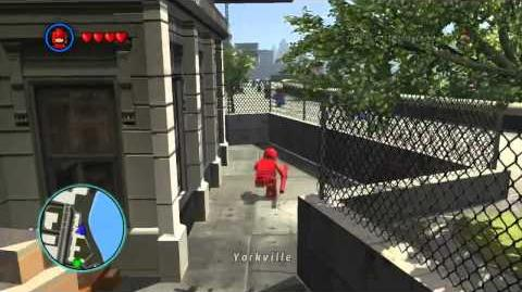LEGO Marvel Super Heroes The Video Game - Daredevil free roam