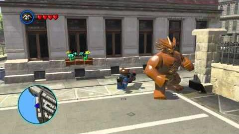 LEGO Marvel Super Heroes The Video Game - Rocket Raccoon free roam