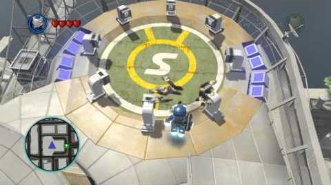 LEGO Marvel Super Heroes The Video Game - War Machine Iron Patriot free roam