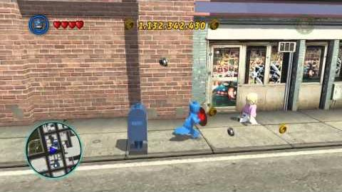 LEGO Marvel Super Heroes The Video Game - Captain America free roam