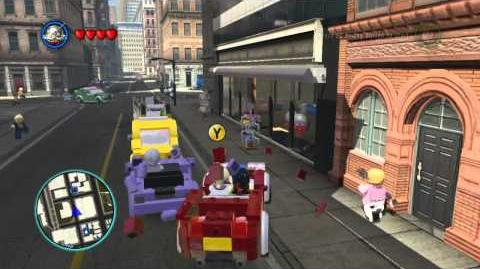LEGO Marvel Super Heroes The Video Game - Ant-Man free roam