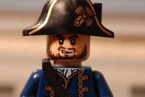 Hector Barbossa as a Privateer
