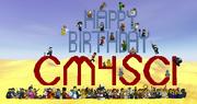 Happy Birthday CM4Sci!! (screenshot)