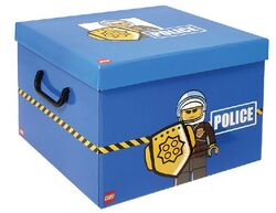SD535blue-Storage Box XXL Police Blue
