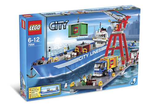7994 LEGO City Harbor