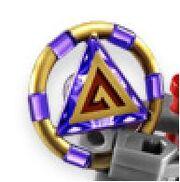 Purple key piece