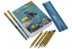 851954 Aqua Raiders Stationery Set
