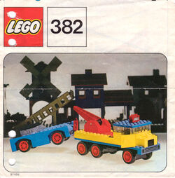 382-Breakdown Truck and Car