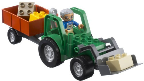 File:DUPLO Tractor with Trailor.png