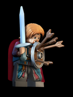 File:Boromir with 3 arrow on his shield.png