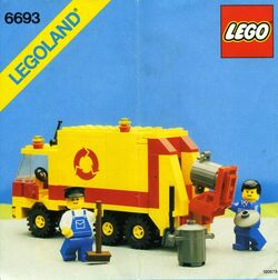 6693 Refuse Collection Truck
