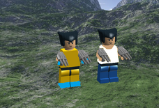 Custom LEGO wolverine