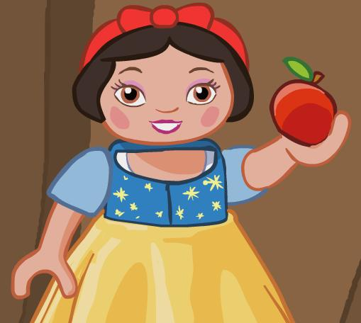 File:Apple and Snow white.jpg