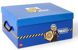 SD536blue Storage Box XL Police Blue