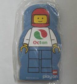 4229614-Memo Pad Minifig - (F) Octan