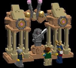 Temple of the Stone Samuai
