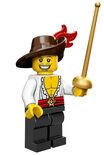 Swashbuckler Series 12 LEGO Minifigures