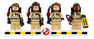 LEGO Ghostbusters minifigures