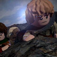 Frodo, Sam and Gollum
