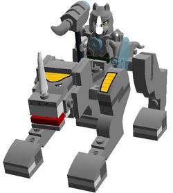 70129 Rhinoceros Legend Beast