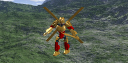 Tahu Lord Of The Golden Armor