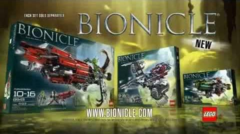 Bionicle - 2008 Vehicle Set Commercial