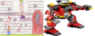 File:Lego Robots Conquest and Lego Phineas and Ferb Sets 2013.jpg