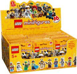 Minifigures series 1 box