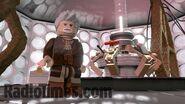 Lego Sir John Hurt's Tardis