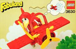 3630 Albert Albatross and His Sports Airplane