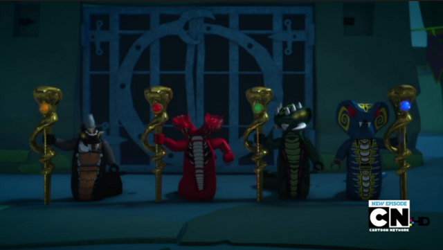 File:Watch The Snake King- NinjaGo- Masters of Spinjitzu Season -1 Episode 6 - Free Full TV Shows Online - XFINITY TV four tribe generals.png