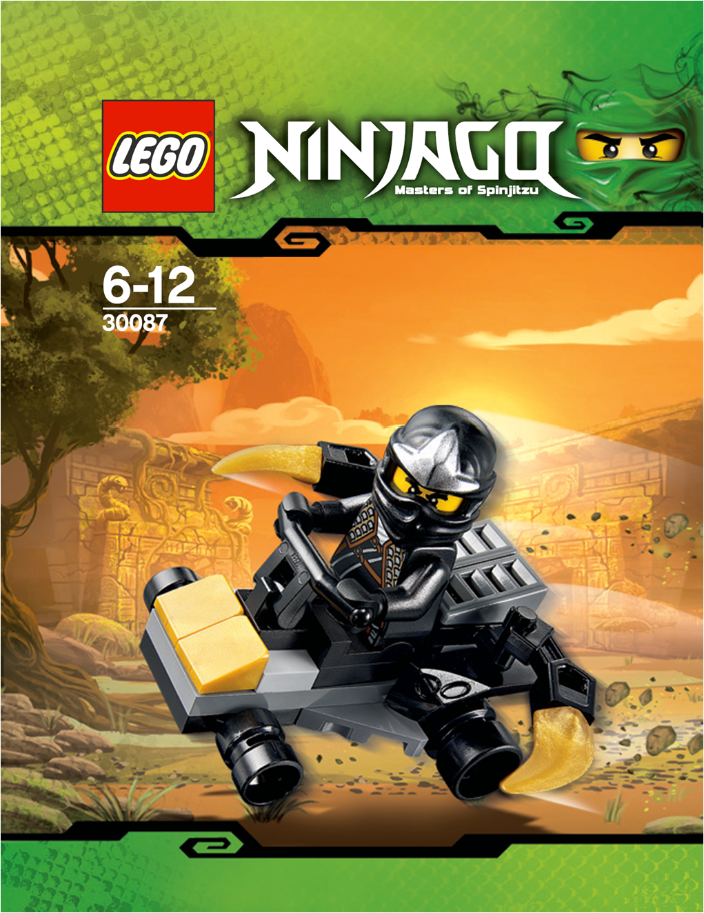 30087 cole 39 s mini car brickipedia fandom powered by wikia - Voiture ninjago ...