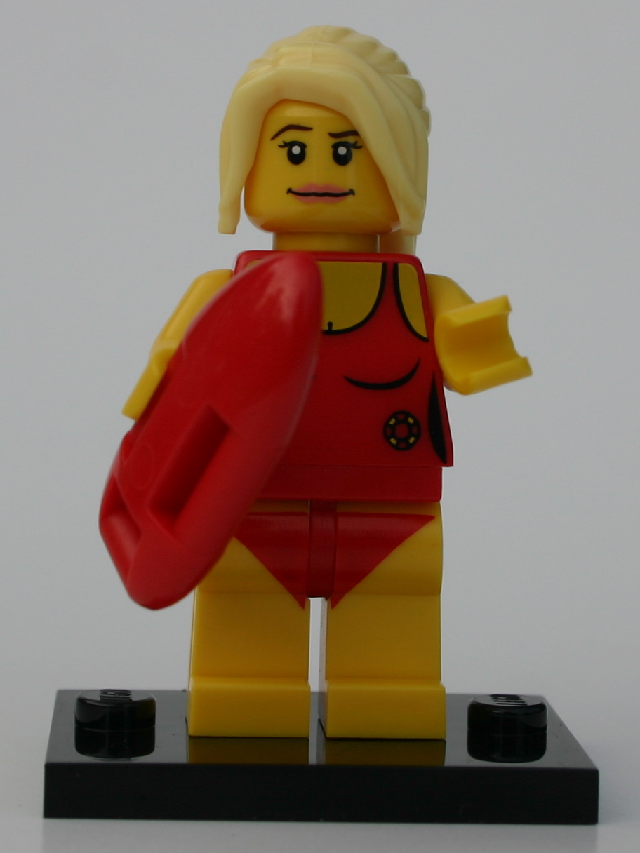 Lifeguard Minifigures Series 2 Brickipedia Fandom
