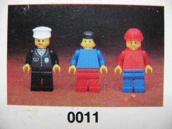 0011-Town Mini-Figures