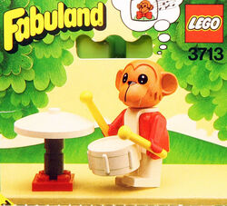 3713-Gabriel the Monkey and His Drum Set