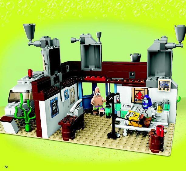 Lego  Spongebob Squarepants Emergency Room