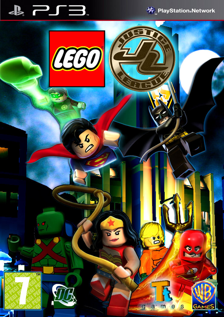 New Lego Games For Ps3 : Custom justice league time traveler the video game