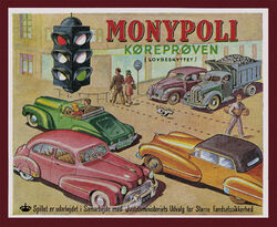 Lego Monypoli board game 1947