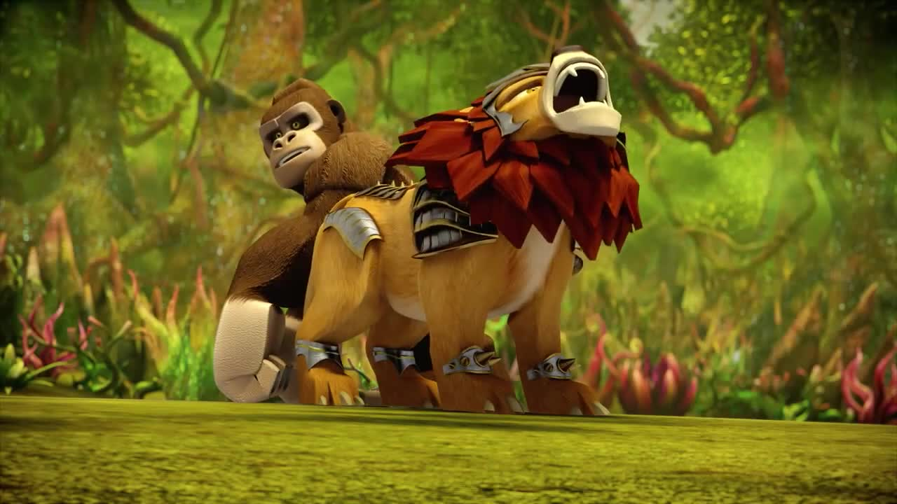Image gorille et lion l gendaires contes du royaume - Chima saison 2 ...