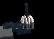 Gun folded