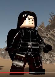 Lego TFA Kylo unmasked
