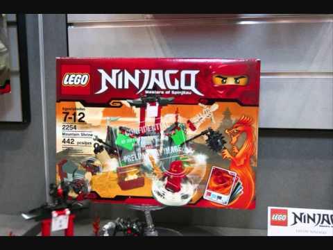 File:Lego Ninjago playsets and spinner toy fair 2011.jpg